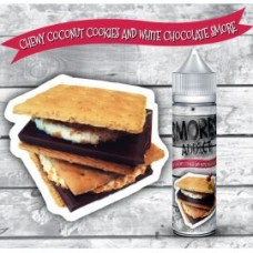 Smore Addict - Chewy Coconut Cookies and White Chocolate Smore (Scomposto) - 20 ml