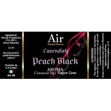 Peach Black - Vapor Cave