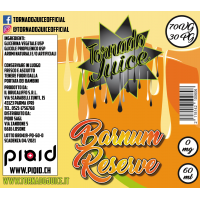 Barnum Reserve 60 ml - 70/30 - 0 mg/ml - Tornado Juice