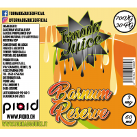 Burnam Reserve 60ml - 70/30 - 3 mg/ml - Tornado Juice